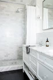Elegance Black And White Mosaic by 10 Walk In Shower Ideas That Wow White Cabinets Marbles And Bath