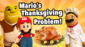 thanksgiving comedy movies sml movie mario u0027s thanksgiving problem youtube