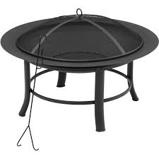 Walmart Patio Tables by Furniture Mainstays 28 Inch Walmart Fire Pits In Black For
