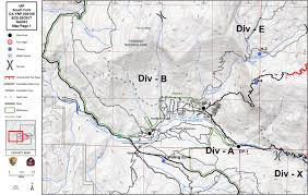 Yosemite Park Map South Fork Fire In Yosemite National Park Perimeter Maps For