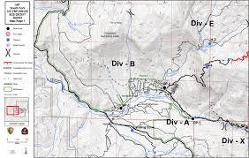 Yosemite Park Map South Fork Fire In Yosemite National Park Perimeter Maps For