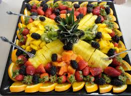 fruit designs for parties loveddd the fruit tray her mom put