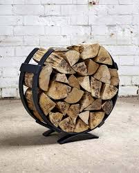 metal log basket ebay
