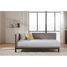 modern daybed dorel mid century linen upholstered modern daybed multiple colors