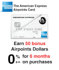 the american express airpoints card credit card finder