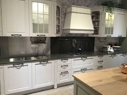 Kitchen Cabinet Stainless Steel Glass Kitchen Cabinets White Cabinets And Counter Black Leather