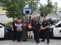 north carolina cops sent to break up block party join in the fun