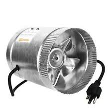 duct booster fan ipower 6 inch 240 cfm inline duct booster fan extractor dryer vent