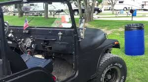 Jeep Bbq Classic Jeep Cj5 With Half A Jeep Bbq Grill Trailer