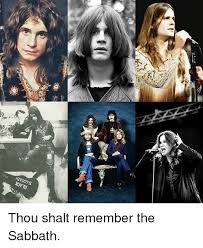 Black Sabbath Memes - black sabbath thou shalt remember the sabbath meme on