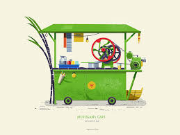 indian cart indian pushcarts on behance