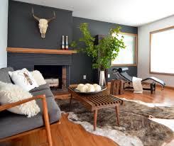 Laminate Flooring On Walls Round Shaped Ottoman Coffee Table Orange Stripped Carpet Flooring