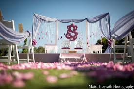Indian Wedding Mandap Rental Indian Wedding Outdoor Mandap In Dana Point California Indian