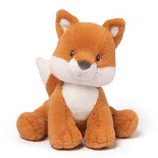 amazon com gund baby rococo fox stuffed animal toy baby
