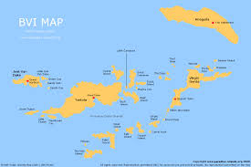 map usvi map of bvi and usvi major tourist attractions maps