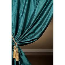 Teal Taffeta Curtains Alluring Teal Taffeta Curtains Designs With Curtains Teal Taffeta