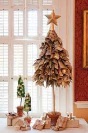 try this projects for the holidays newspaper christmas tree