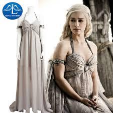 Game Thrones Halloween Costumes Khaleesi Buy Wholesale Game Thrones Halloween China Game