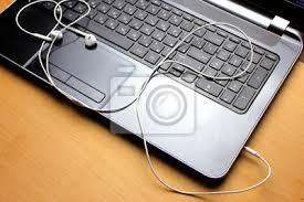 ordinateur portable de bureau vue bureau table sommet ordinateur portable ordinateur