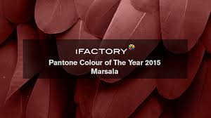 pantone colour of the year 2015 marsala youtube