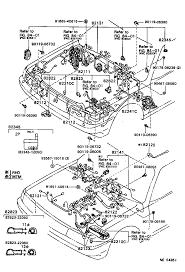 toyota cressidagx81r aepqk electrical wiring clamp japan