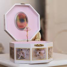 personalized ballerina jewelry box ballerina jewellery box pink by loula and deer