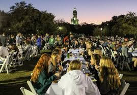 baylor family invited to thanksgiving dinner fall festival the