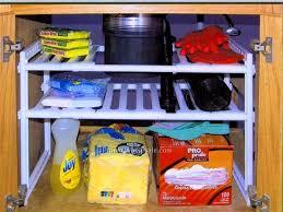 bathroom sink organizer ideas cabinet under sink storage shelf under sink organizers bathroom