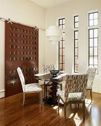 Door Dining Room Table by 25 Diverse Dining Rooms With Sliding Barn Doors