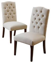clark dining chairs set of 2 transitional dining chairs by