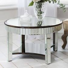 Glass Coffee Table Set Coffee Table Remarkable Mirrored Coffee Table Round Amazon