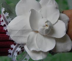 Wrist Corsage Prices Prom Wrist Corsage Gardenia Wedding Handmade Paper Flowers By