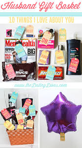 husband gift basket 10 things i about you gift free