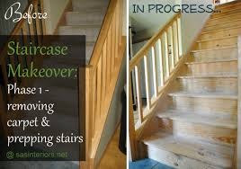 staircase makeover a new diy venture begins burger