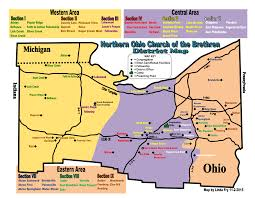 Sugarcreek Ohio Map by District U0026 Denominational Resources Northern Ohio District