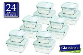 amazon com snaplock lid tempered glasslock storage containers