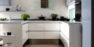 White Lacquer Kitchen Cabinets Lacquered Kitchens