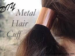 hair cuff diy metal hair cuff sew historically
