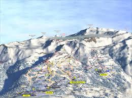 Montana Ski Resorts Map by Crans Montana Piste Maps And Ski Resort Map Powderbeds