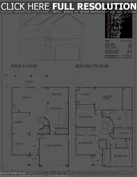 small two story floor plans 2 story house floor plans luxihome