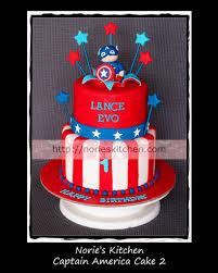 captain america cakes captain america norie s kitchen custom cakes