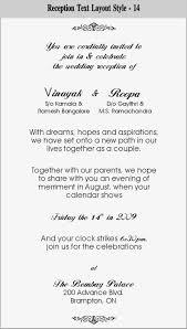hindu wedding invitations templates wedding invitation wording in pdf matik for