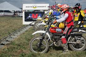dirt bike motocross racing ama brings back classic bikes for new vintage national