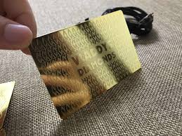 Luxury Business Cards Gold Metal Business Cards Luxury And Stylish Free Shipping