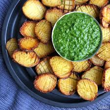 pom pom cuisine mini roasted pom pom potatoes with kale pesto thefeedfeed