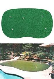 How To Make A Golf Green In Your Backyard by Golf Anyone Custom 5 Hole Synthetic Putting Green In Your Own