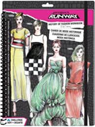 amazon com fashion angels project runway make up design sketch