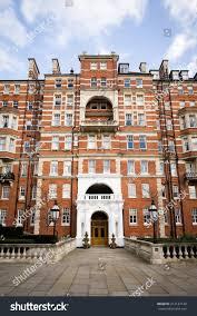 kensington palace apartment facade upmarket apartment block kensington west stock photo