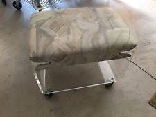 Lucite Vanity Bench Hollywood Regency Antique Benches Ebay