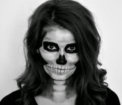 skeleton makeup tutorial for scary makeup ideas for